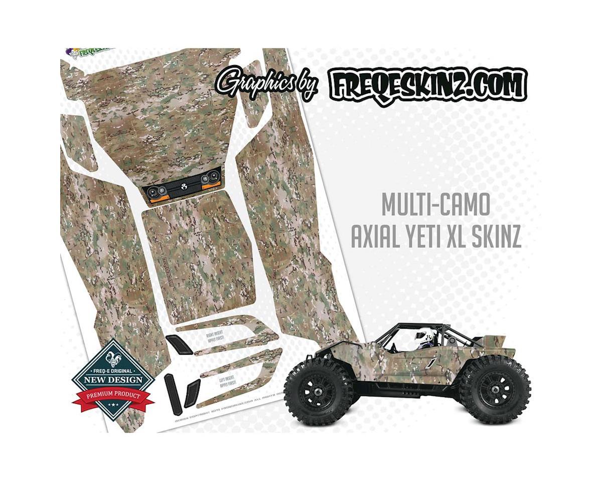 Freqeskinz XL sKinz Multi-Camo Design Axial Yeti