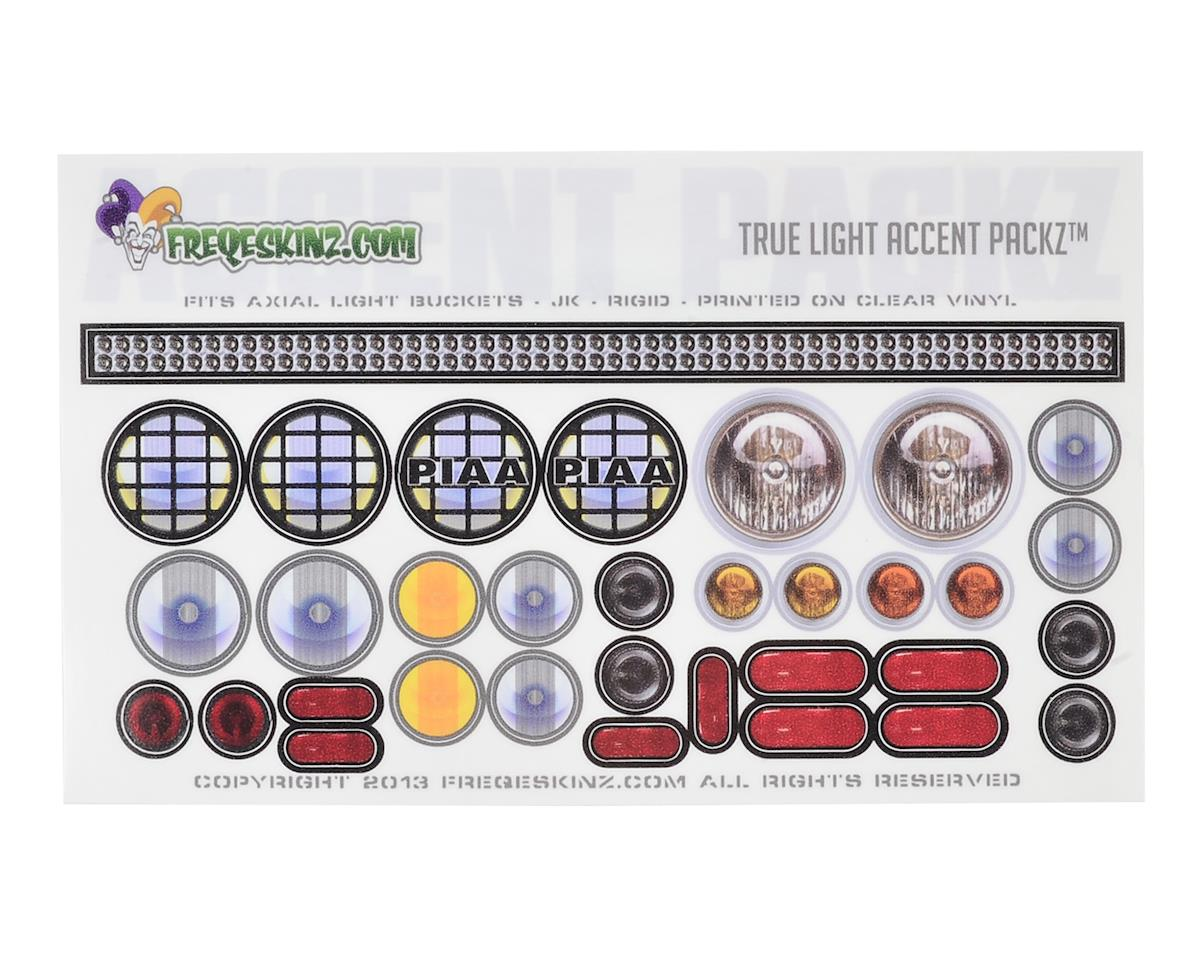 Freqeskinz True Light Accent Packz Clear Light Decals