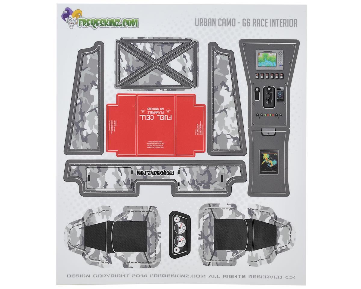 Freqeskinz Axial G6 Jeep Interior sKinz (Urban Camo)