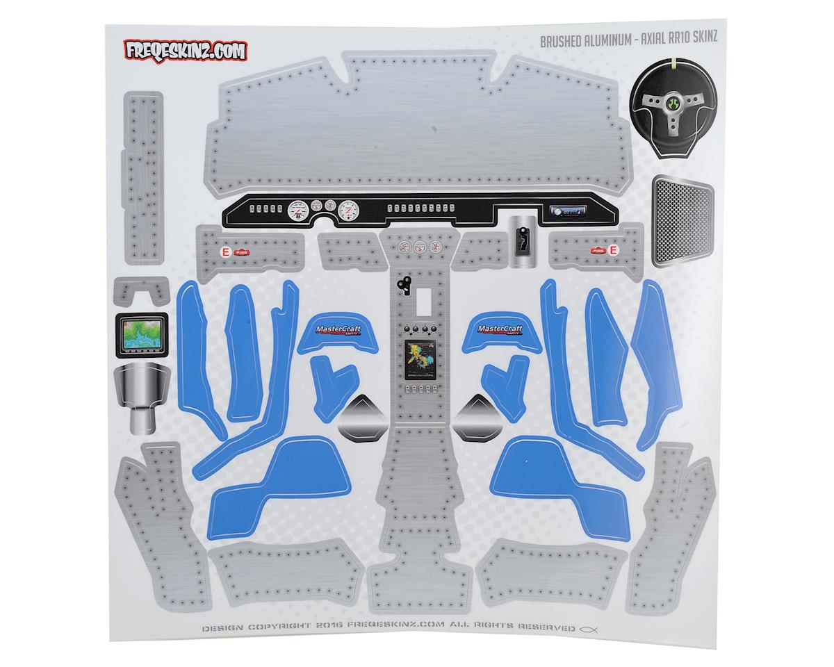 Freqeskinz Axial RR10 Bomber Interior sKinz (Brushed Aluminum)