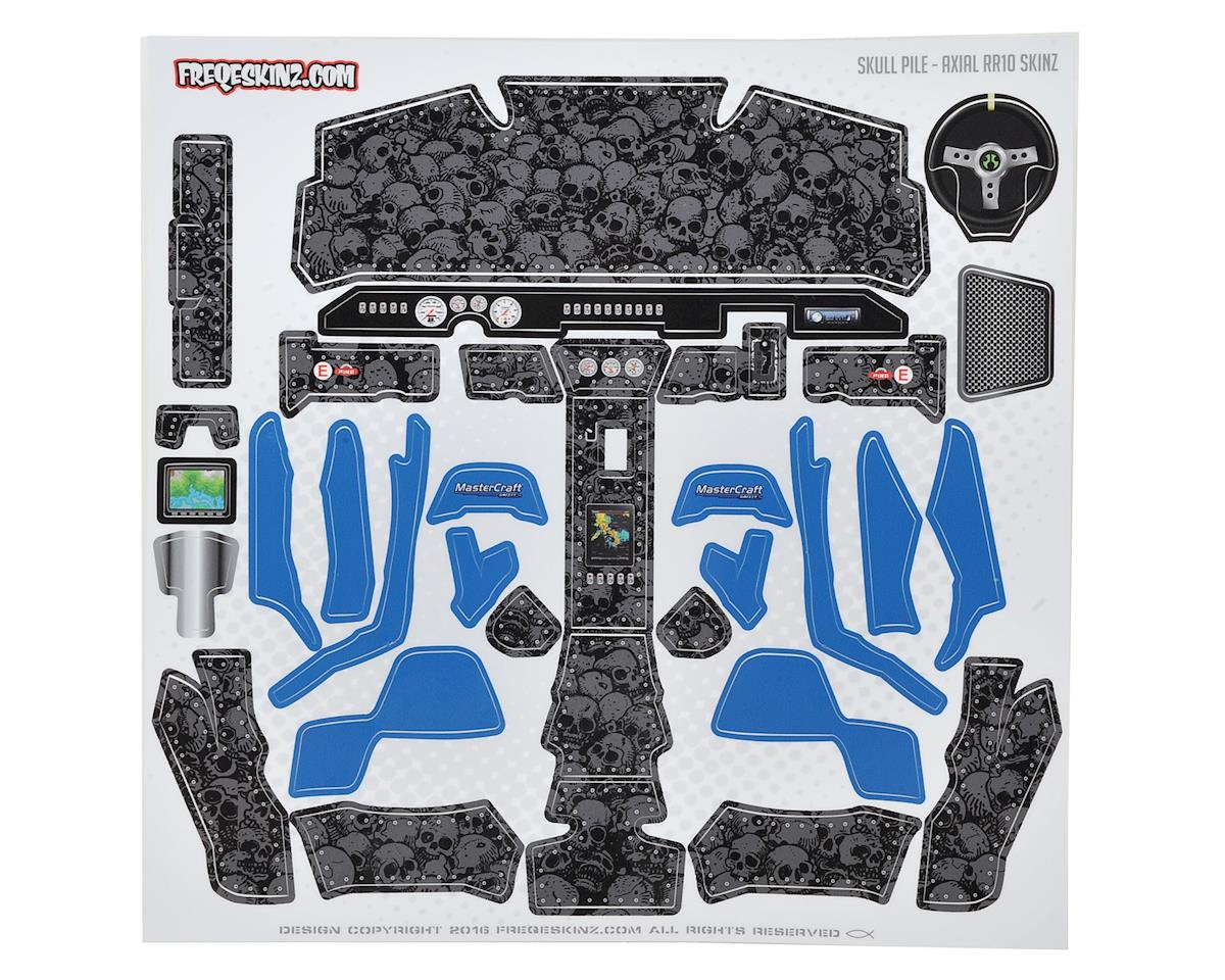 Freqeskinz Axial RR10 Bomber Interior sKinz (Skull Pile)