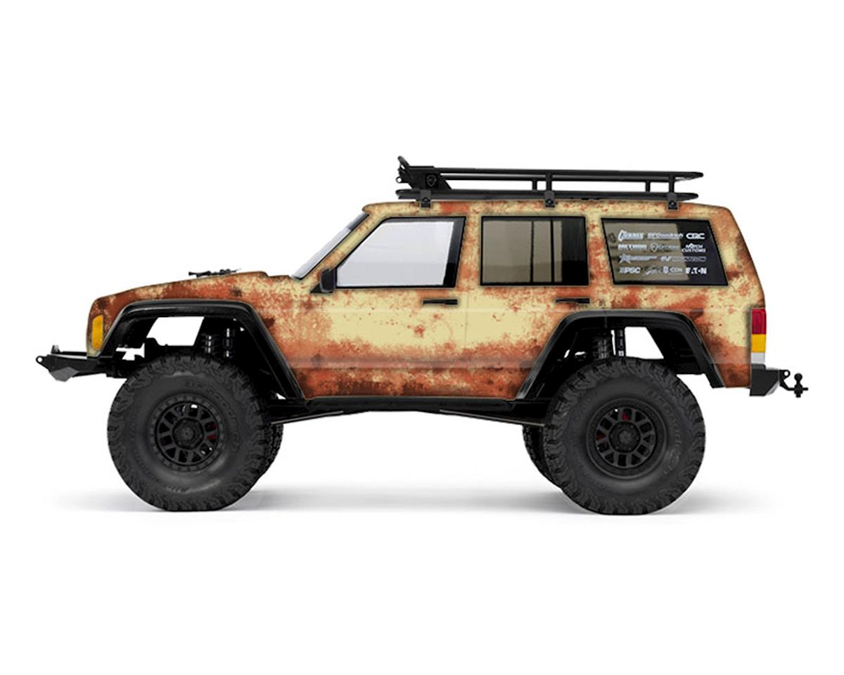 Freqeskinz Axial 2000 Jeep Cherokee Rust Bucket Series Body Wrap (Beige)
