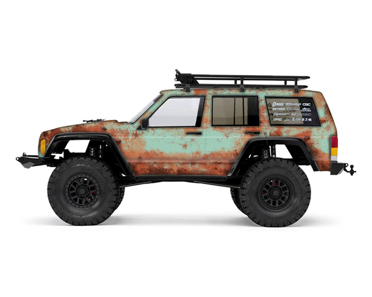 Freqeskinz Axial 2000 Jeep Cherokee Rust Bucket Series Body Wrap (Teal)