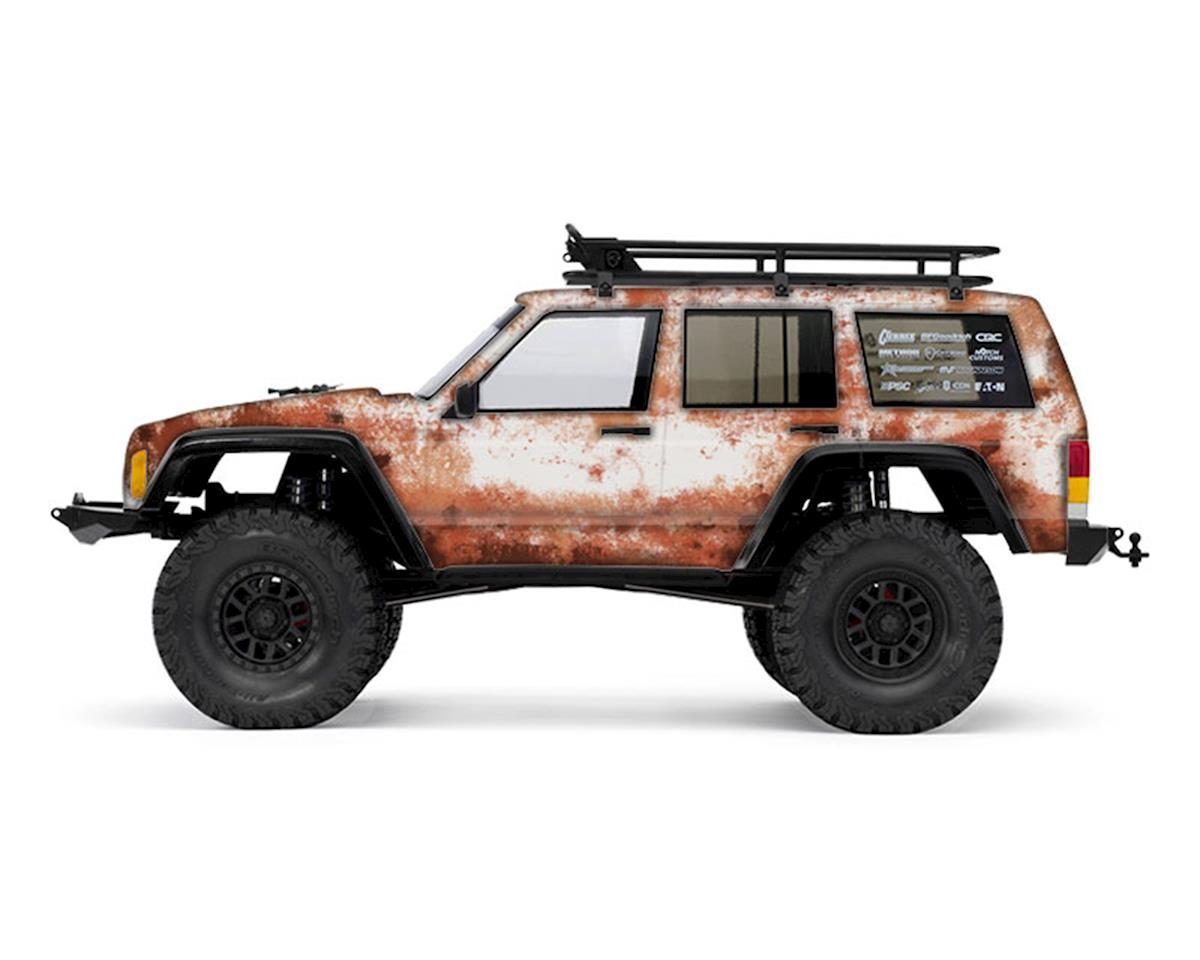 Axial 2000 Jeep Cherokee Rust Bucket Series Body Wrap (White) by Freqeskinz