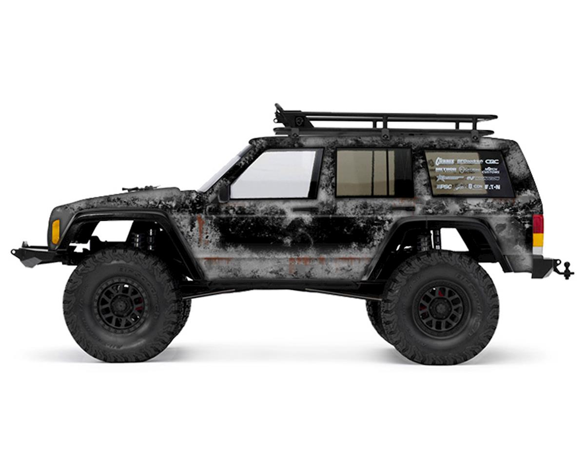 Freqeskinz Axial 2000 Jeep Cherokee PRIMER Series Body Wrap (Black)