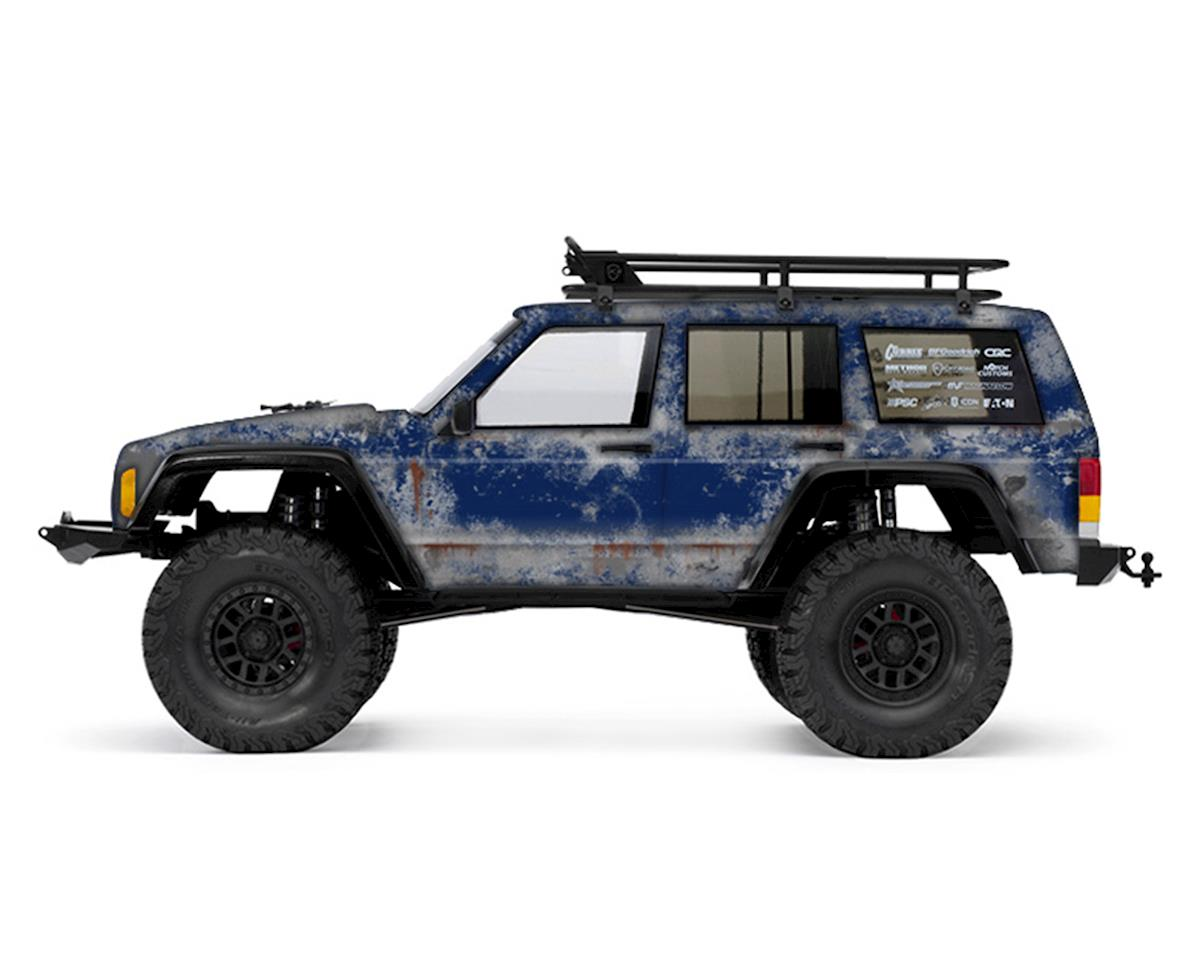 Freqeskinz Axial 2000 Jeep Cherokee PRIMER Series Body Wrap (Patriot Blue)