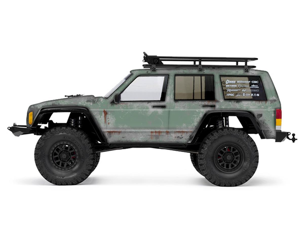 Axial 2000 Jeep Cherokee PRIMER Series Body Wrap (Fern Green) by Freqeskinz