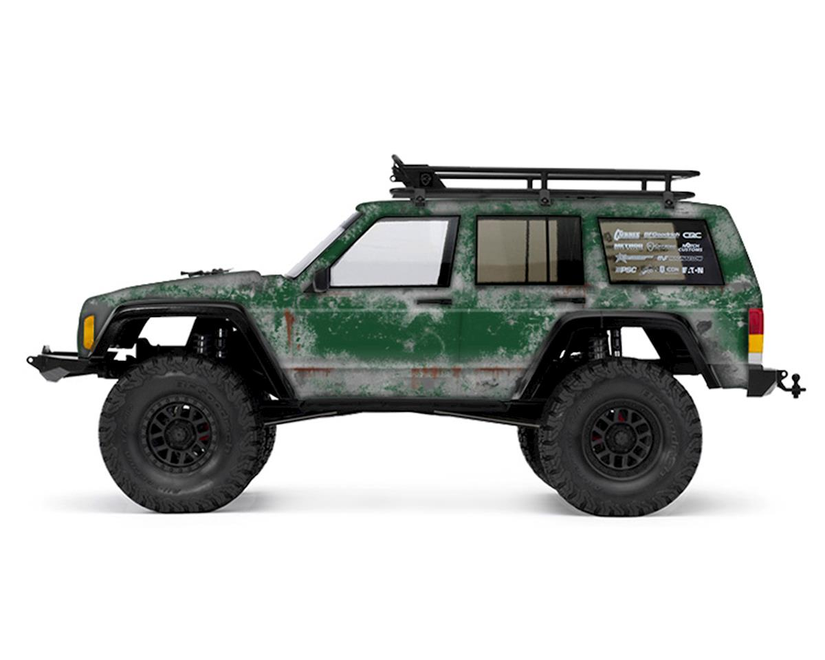 Freqeskinz Axial 2000 Jeep Cherokee PRIMER Series Body Wrap (Forrest Green)