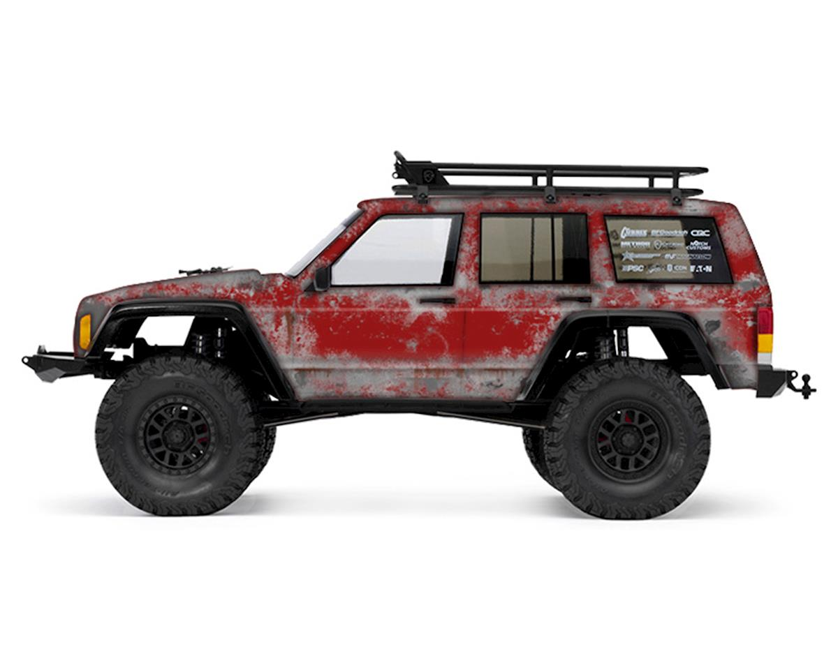 Freqeskinz Axial 2000 Jeep Cherokee PRIMER Series Body Wrap (Flame Red)