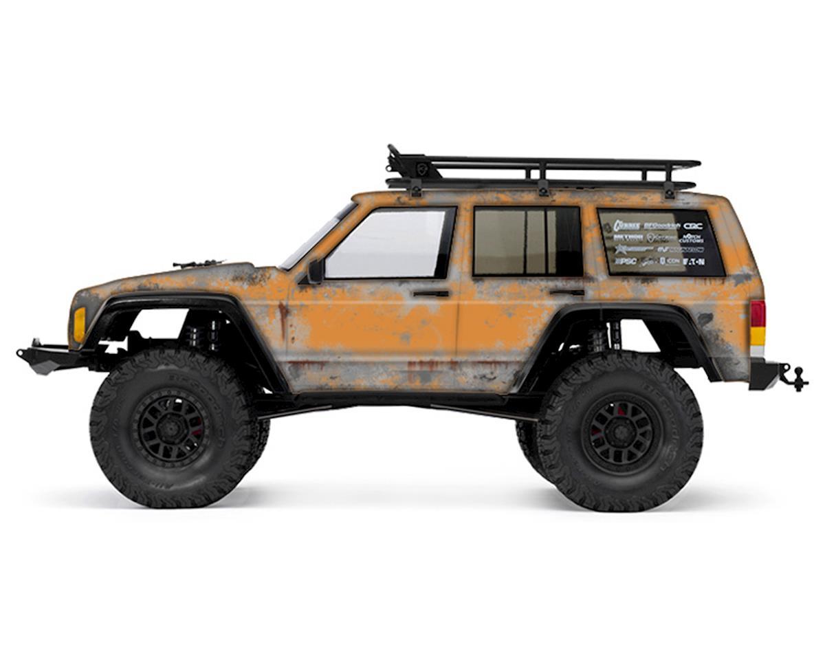 Freqeskinz Axial 2000 Jeep Cherokee PRIMER Series Body Wrap (Desert Sand)