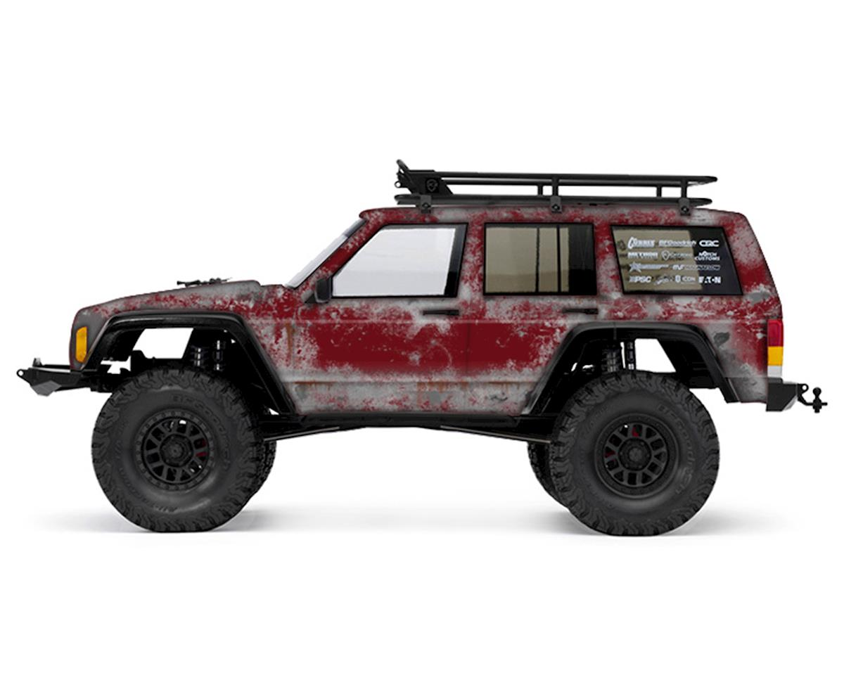 Freqeskinz Axial 2000 Jeep Cherokee PRIMER Series Body Wrap (Sienna)