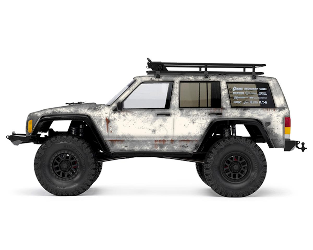 Axial 2000 Jeep Cherokee PRIMER Series Body Wrap (Stone White) by Freqeskinz