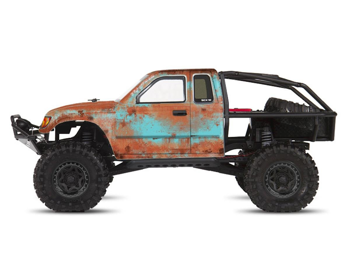 Axial Honcho Rust Bucket Series Body Wrap (Blue) by Freqeskinz