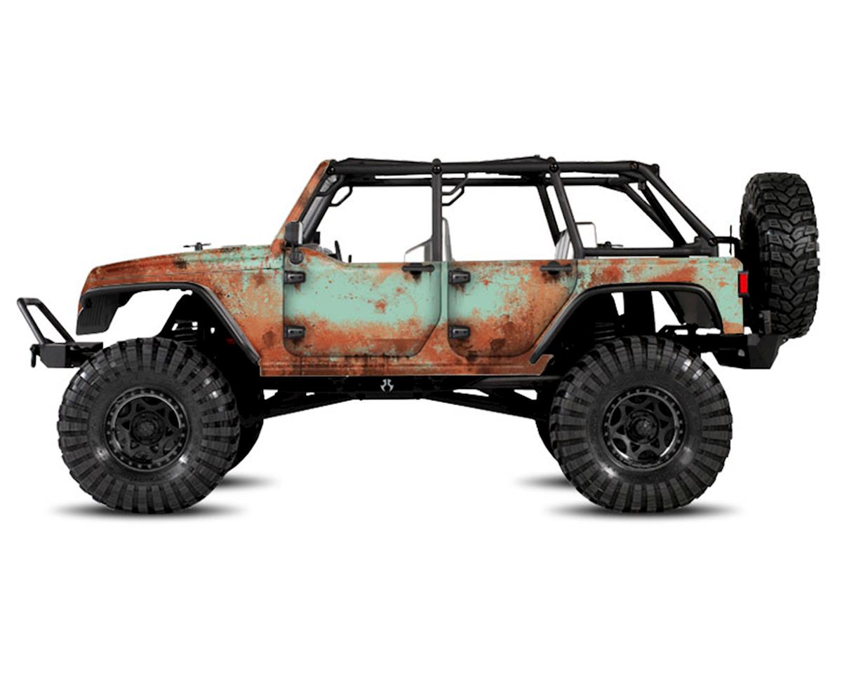 Freqeskinz Axial Jeep Rubicon Rust Bucket Series Body Wrap (Teal)