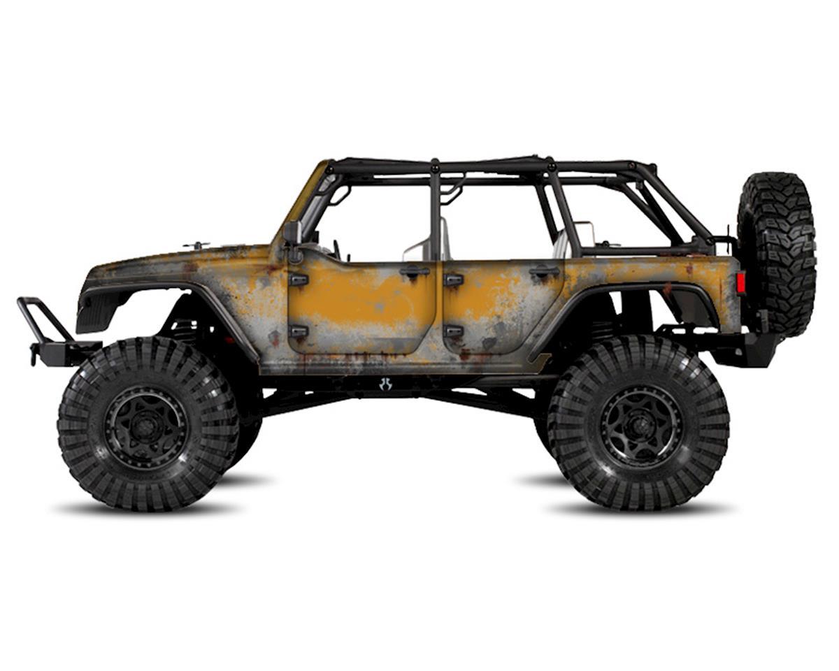 Freqeskinz Axial Jeep Rubicon PRIMER Series Body Wrap (Amp'd)