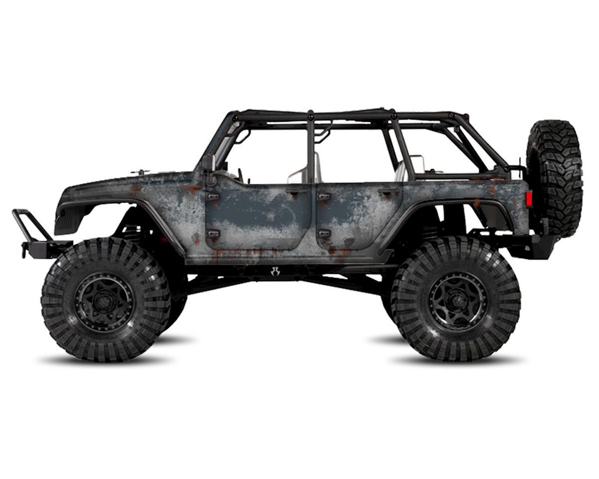 Freqeskinz Axial Jeep Rubicon PRIMER Series Body Wrap (Anvil)