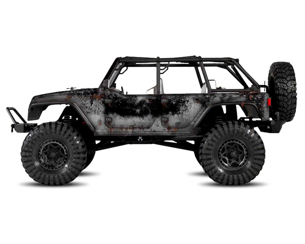 Axial Jeep Rubicon PRIMER Series Body Wrap (Black) by Freqeskinz