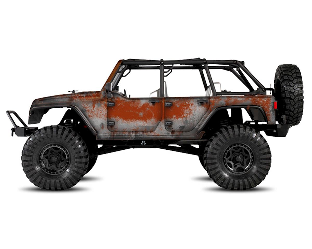 Freqeskinz Axial Jeep Rubicon PRIMER Series Body Wrap (Copperhead)