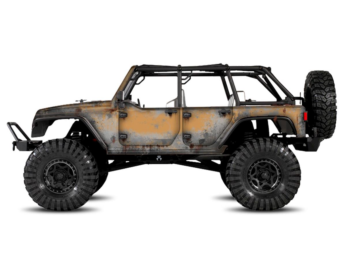 Freqeskinz Axial Jeep Rubicon PRIMER Series Body Wrap (Dune)