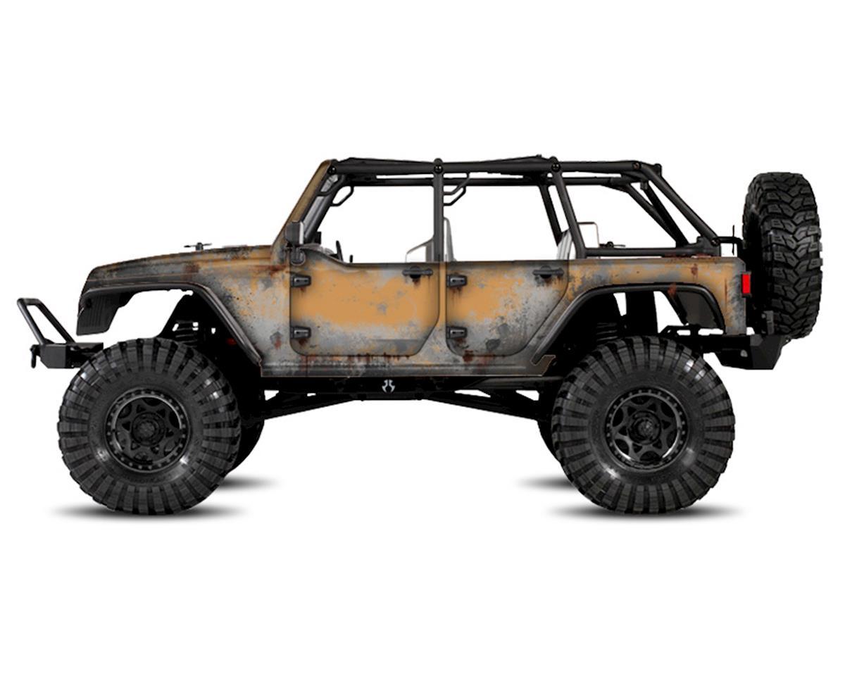 Freqeskinz Axial Jeep Rubicon PRIMER Series Body Wrap (Dune)