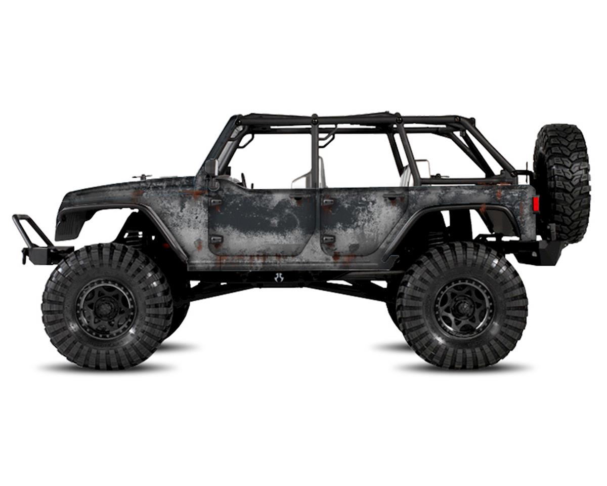 Freqeskinz Axial Jeep Rubicon PRIMER Series Body Wrap (Granite)