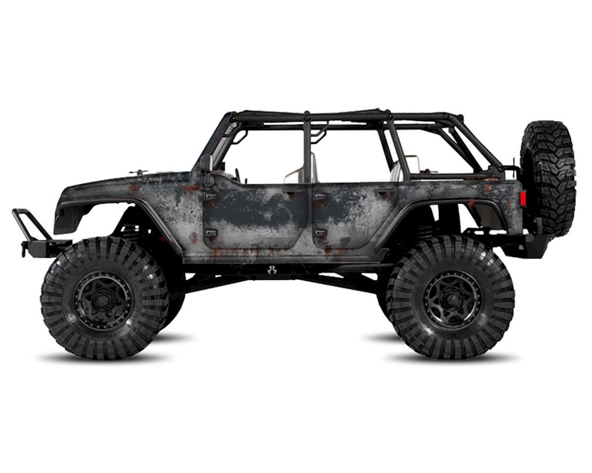 Freqeskinz Axial Jeep Rubicon PRIMER Series Body Wrap (Granite)