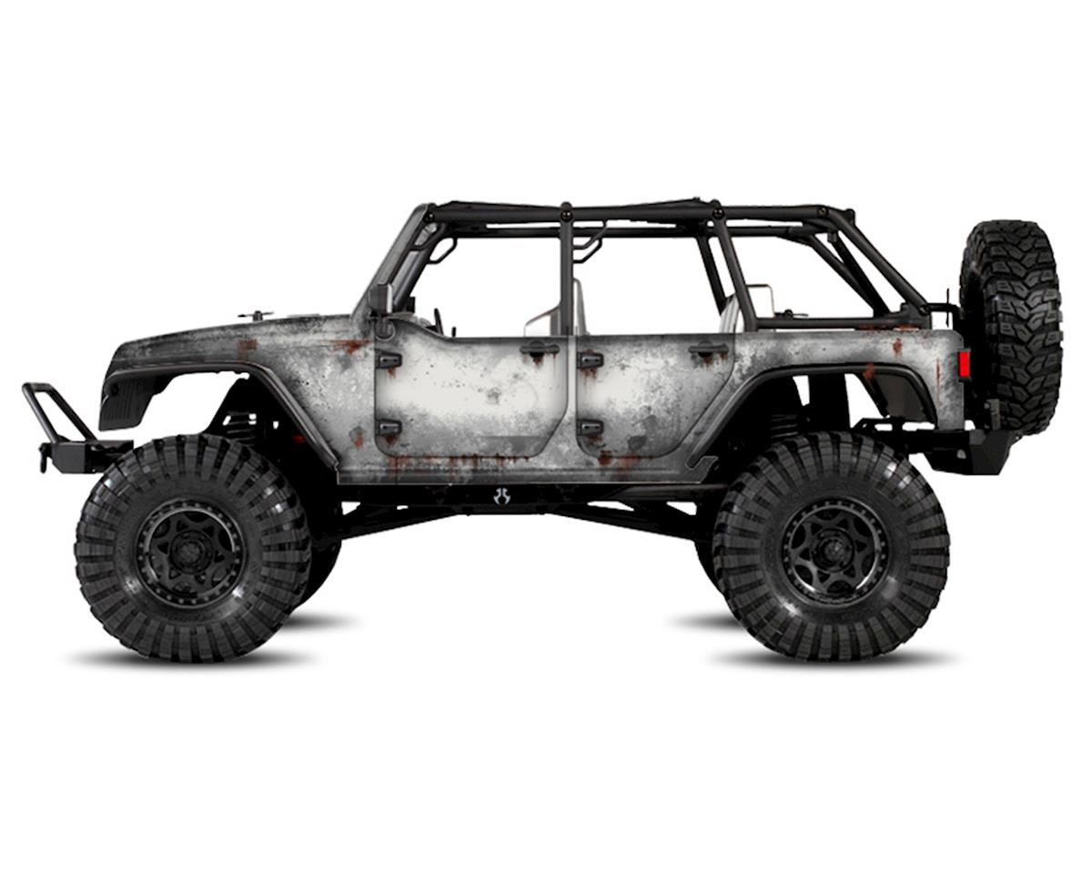 Freqeskinz Axial Jeep Rubicon PRIMER Series Body Wrap (White)
