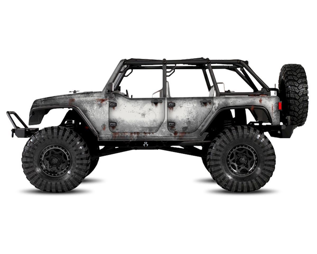 Freqeskinz Axial Jeep Rubicon PRIMER Series Body Wrap (White)