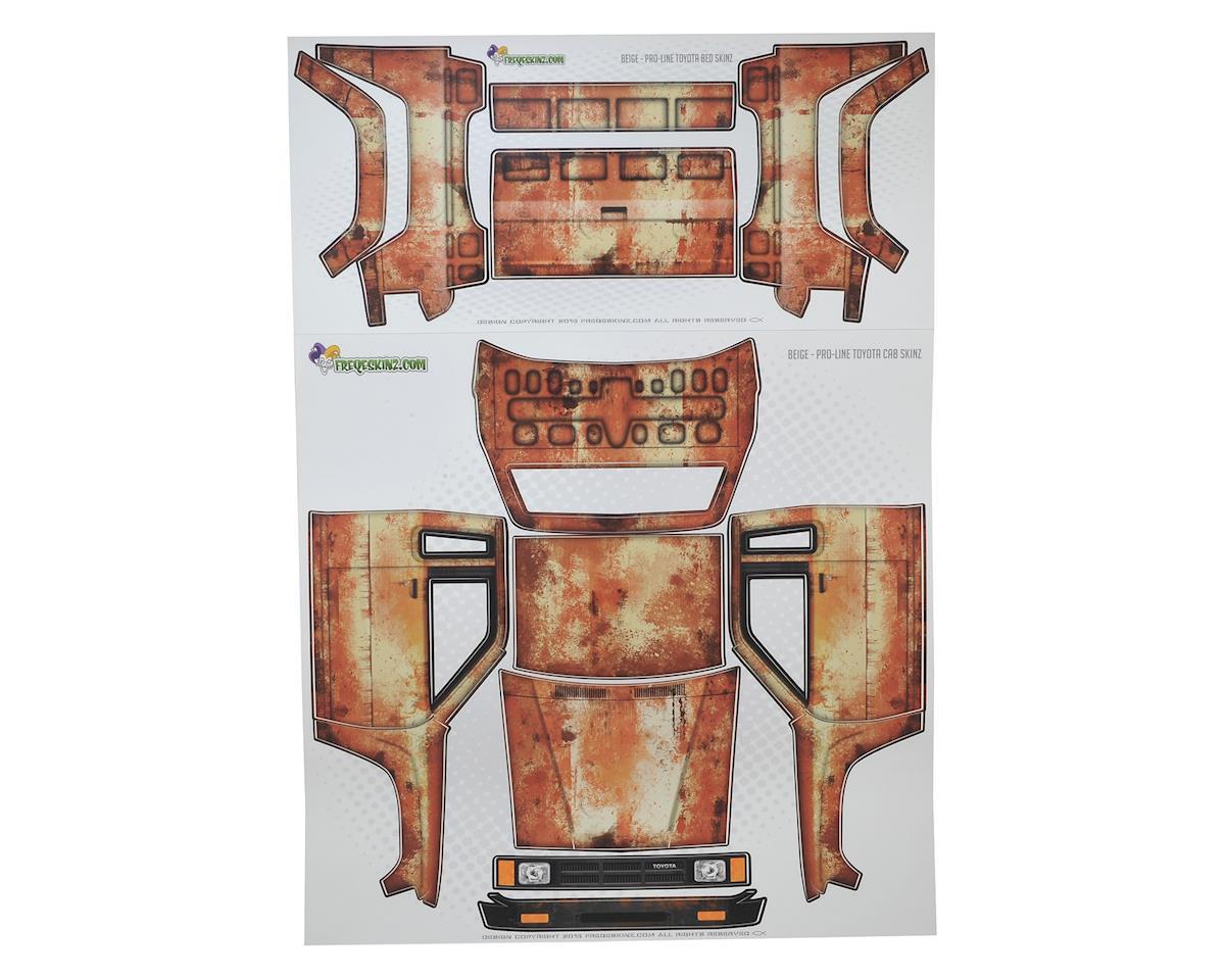 Freqeskinz Pro-Line Toyota Rust Bucket Series Body Wrap (Beige)