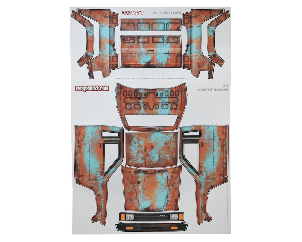 Freqeskinz Pro-Line Toyota Rust Bucket Series Body Wrap (Blue)