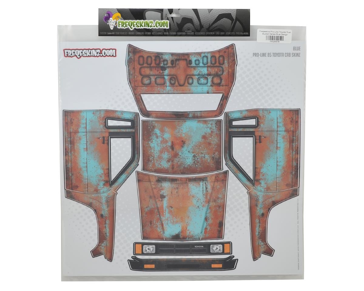 Pro-Line Toyota Rust Bucket Series Body Wrap (Blue) by Freqeskinz