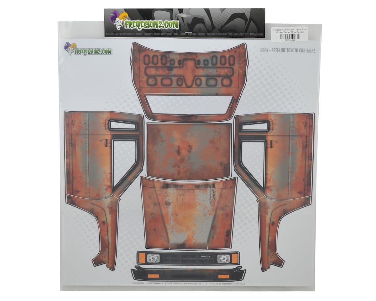 Pro-Line Toyota Rust Bucket Series Body Wrap (Gray) by Freqeskinz