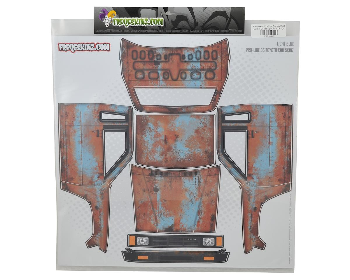 Freqeskinz Pro-Line Toyota Rust Bucket Series Body Wrap (Light Blue)