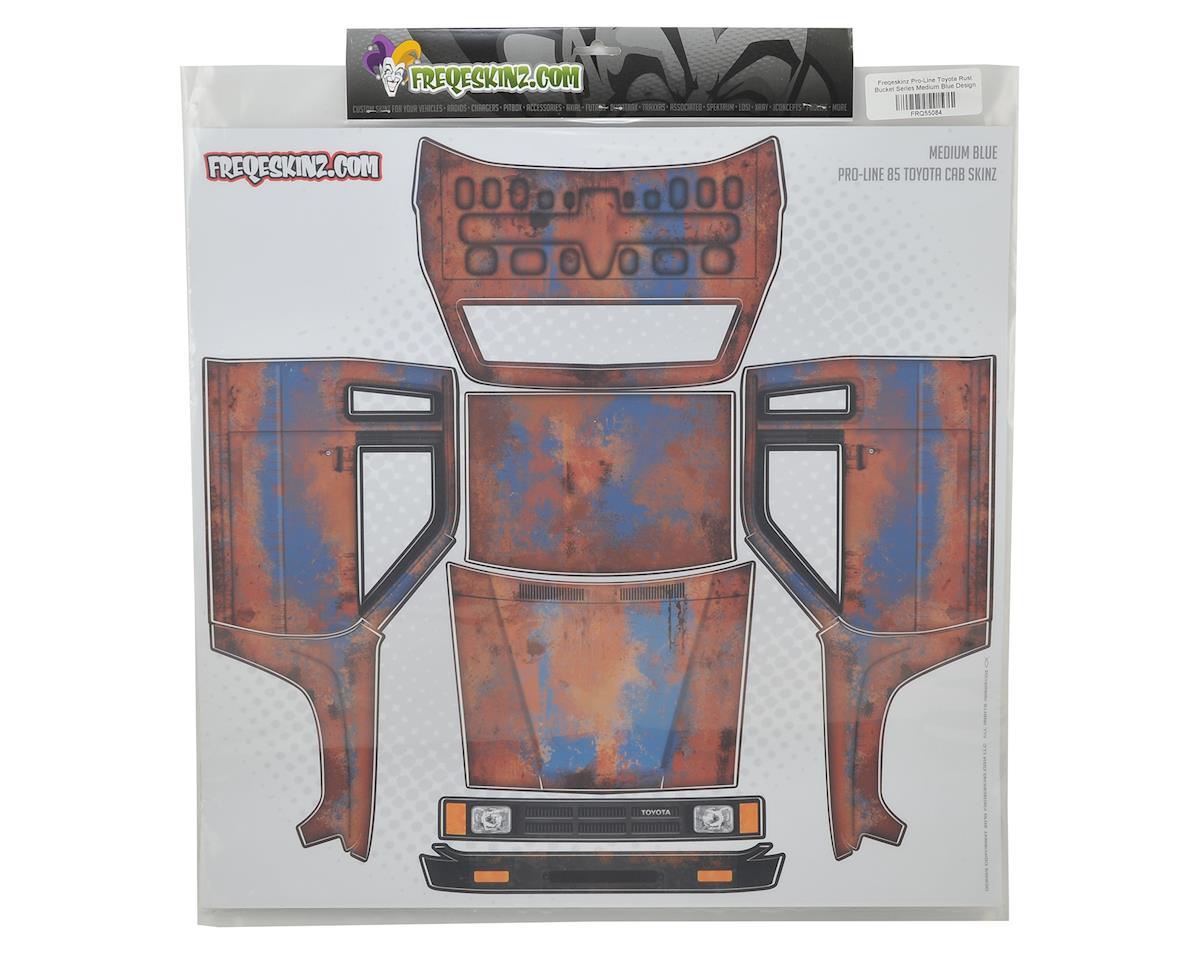 Freqeskinz Pro-Line Toyota Rust Bucket Series Body Wrap (Medium Blue)