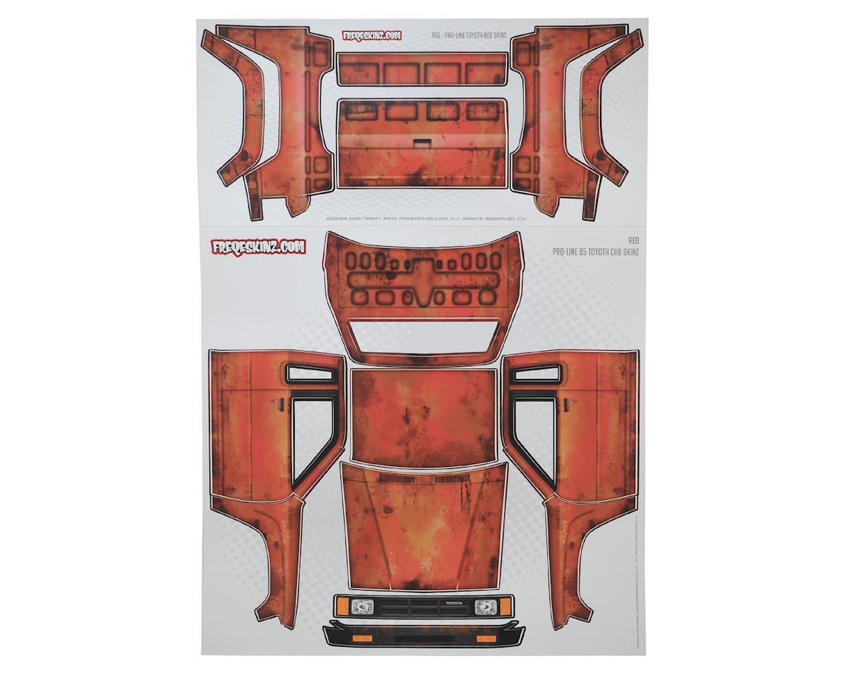 Freqeskinz Pro-Line Toyota Rust Bucket Series Body Wrap (Red)