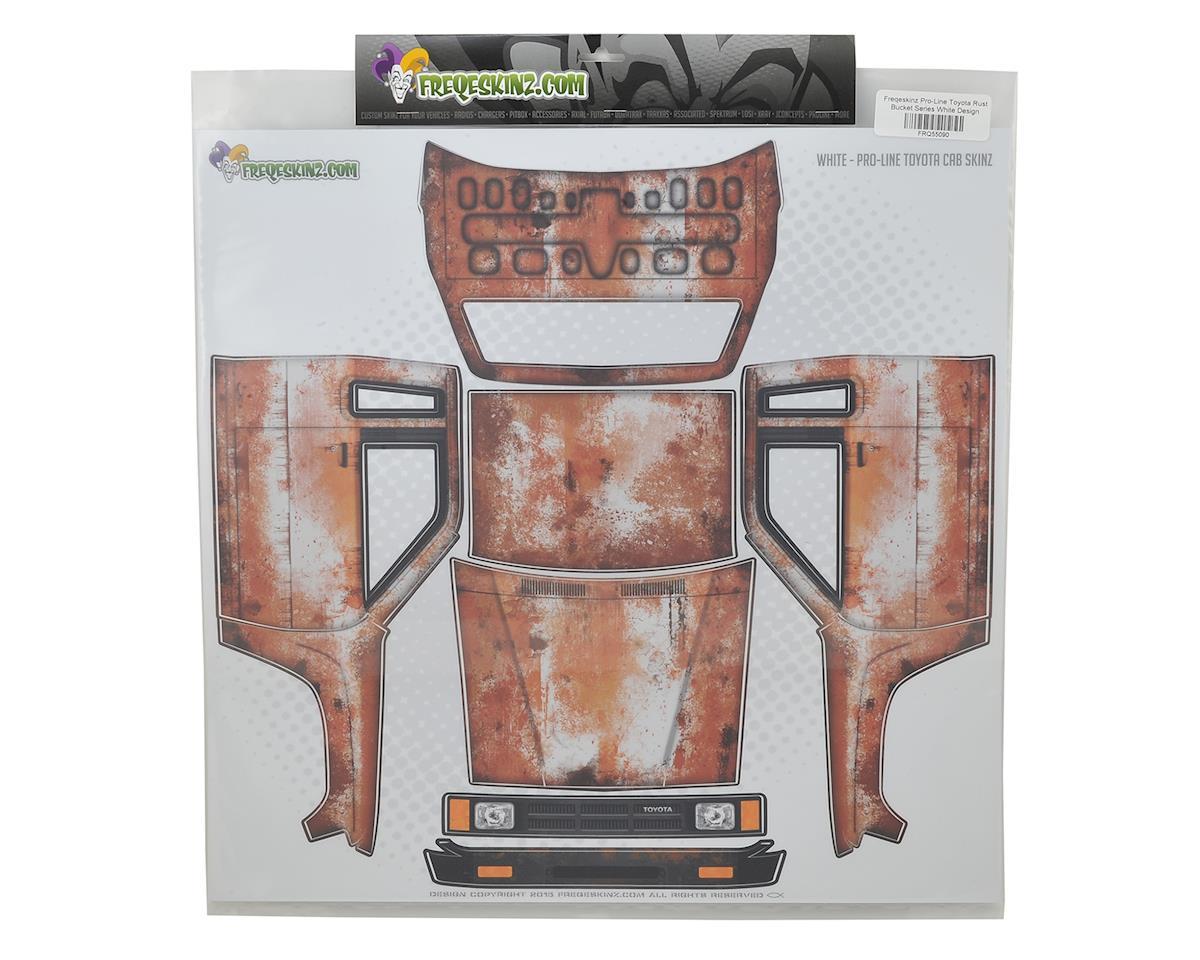 Freqeskinz Pro-Line Toyota Rust Bucket Series Body Wrap (White)