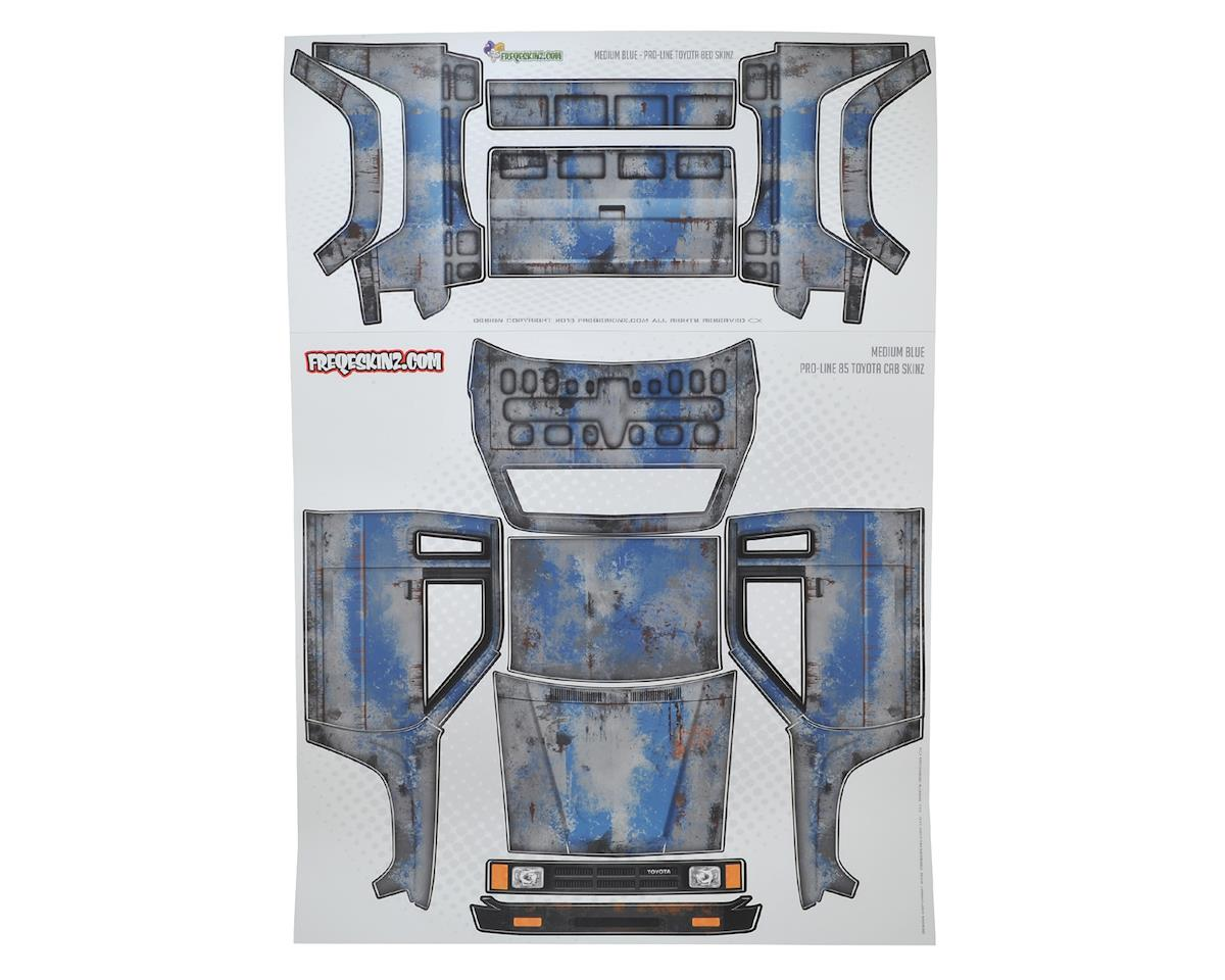 Freqeskinz Pro-Line Toyota PRIMER Series Body Wrap (Medium Blue)