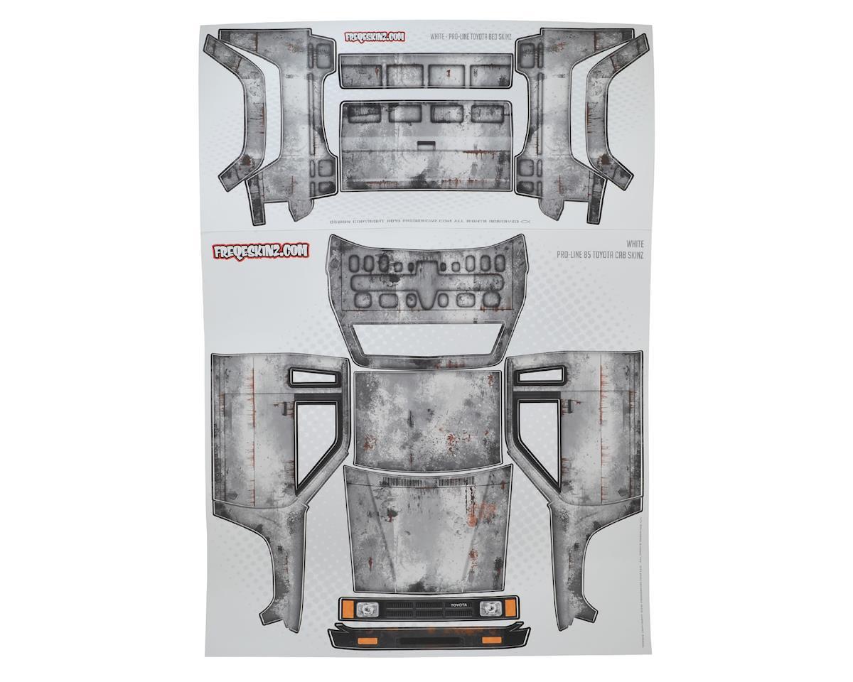 Freqeskinz Pro-Line Toyota PRIMER Series Body Wrap (White)