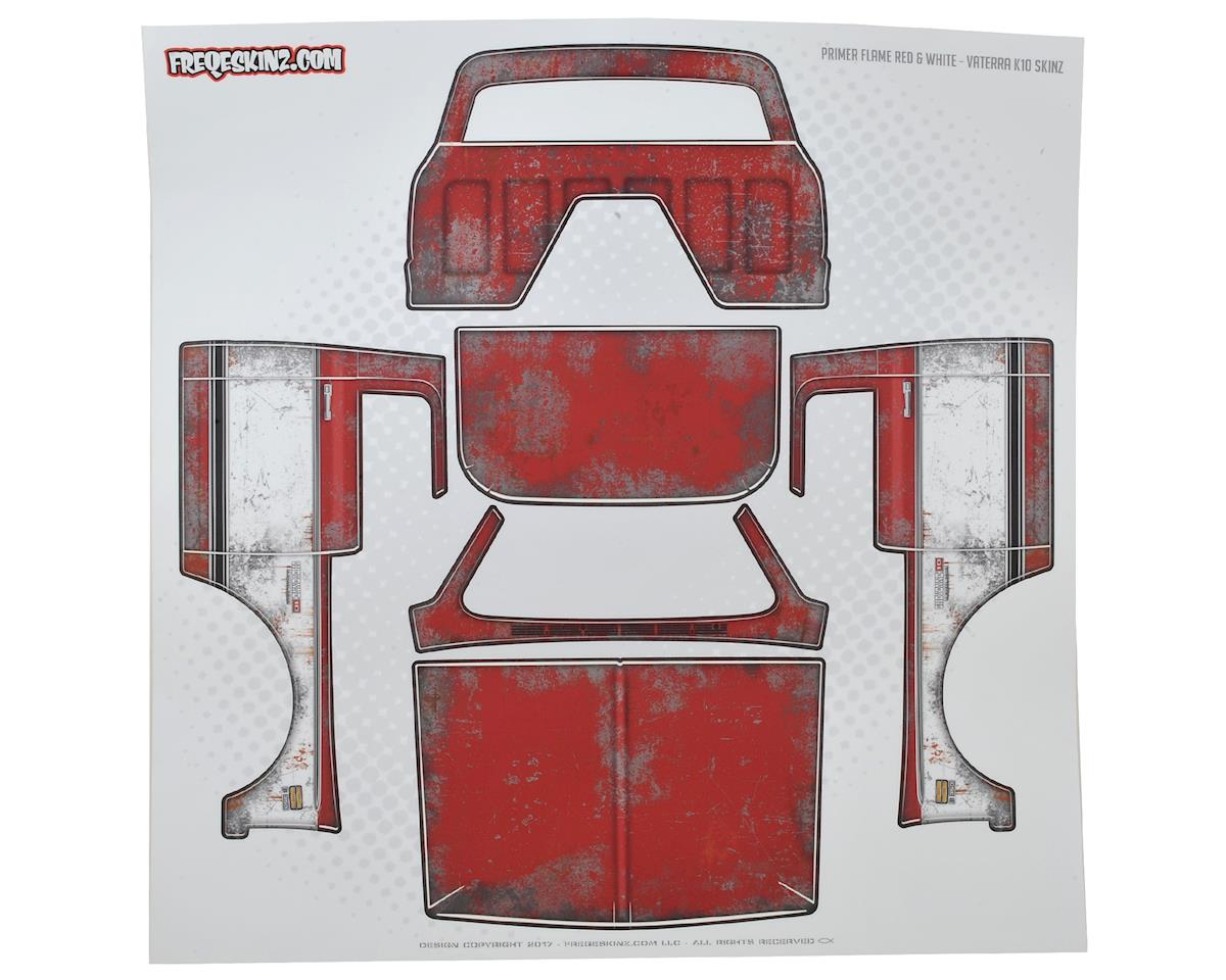 Freqeskinz Vaterra K10 PRIMER Series Body Wrap (Flame Red)
