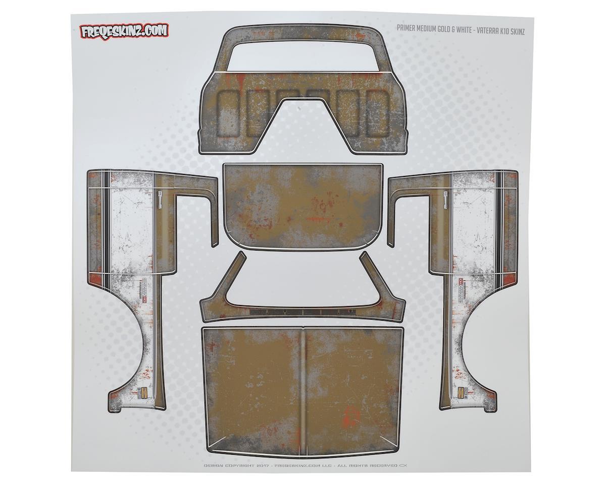 Freqeskinz Vaterra K10 PRIMER Series Body Wrap (Medium Gold)