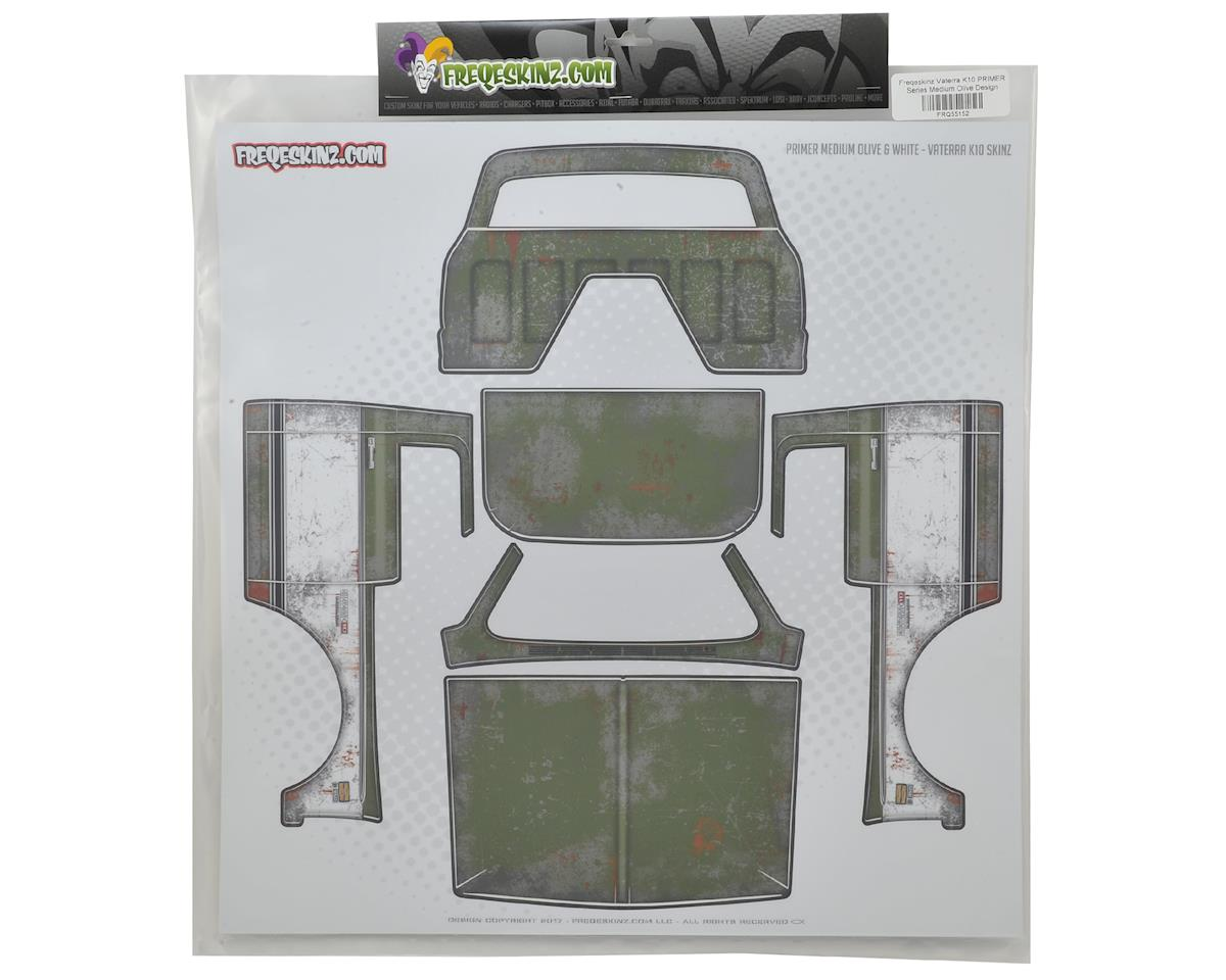 Freqeskinz Vaterra K10 PRIMER Series Body Wrap (Medium Olive)