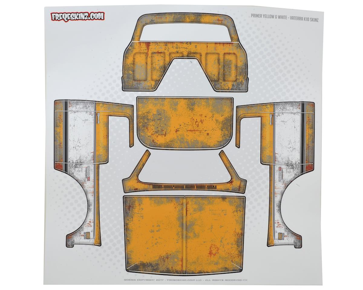 Vaterra K10 PRIMER Series Body Wrap (Yellow) by Freqeskinz