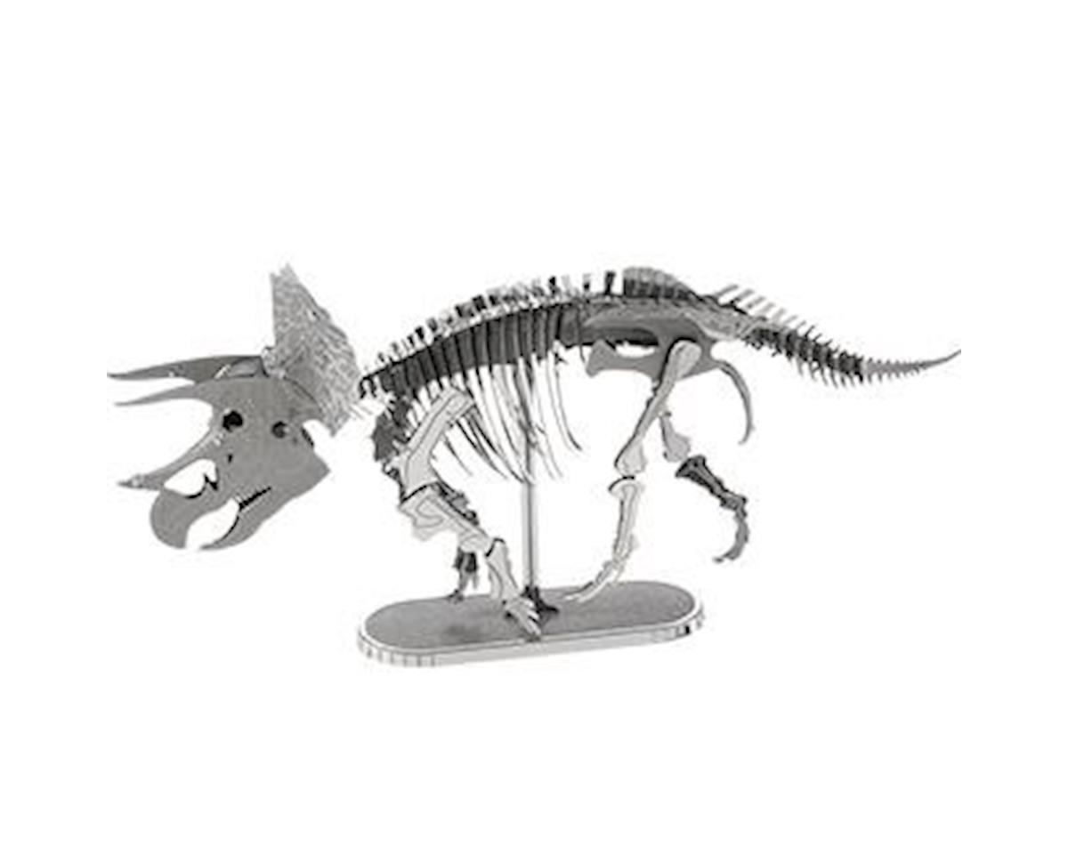 Fascinations Metal Earth Triceratops Skeleton 3D Metal Model Kit