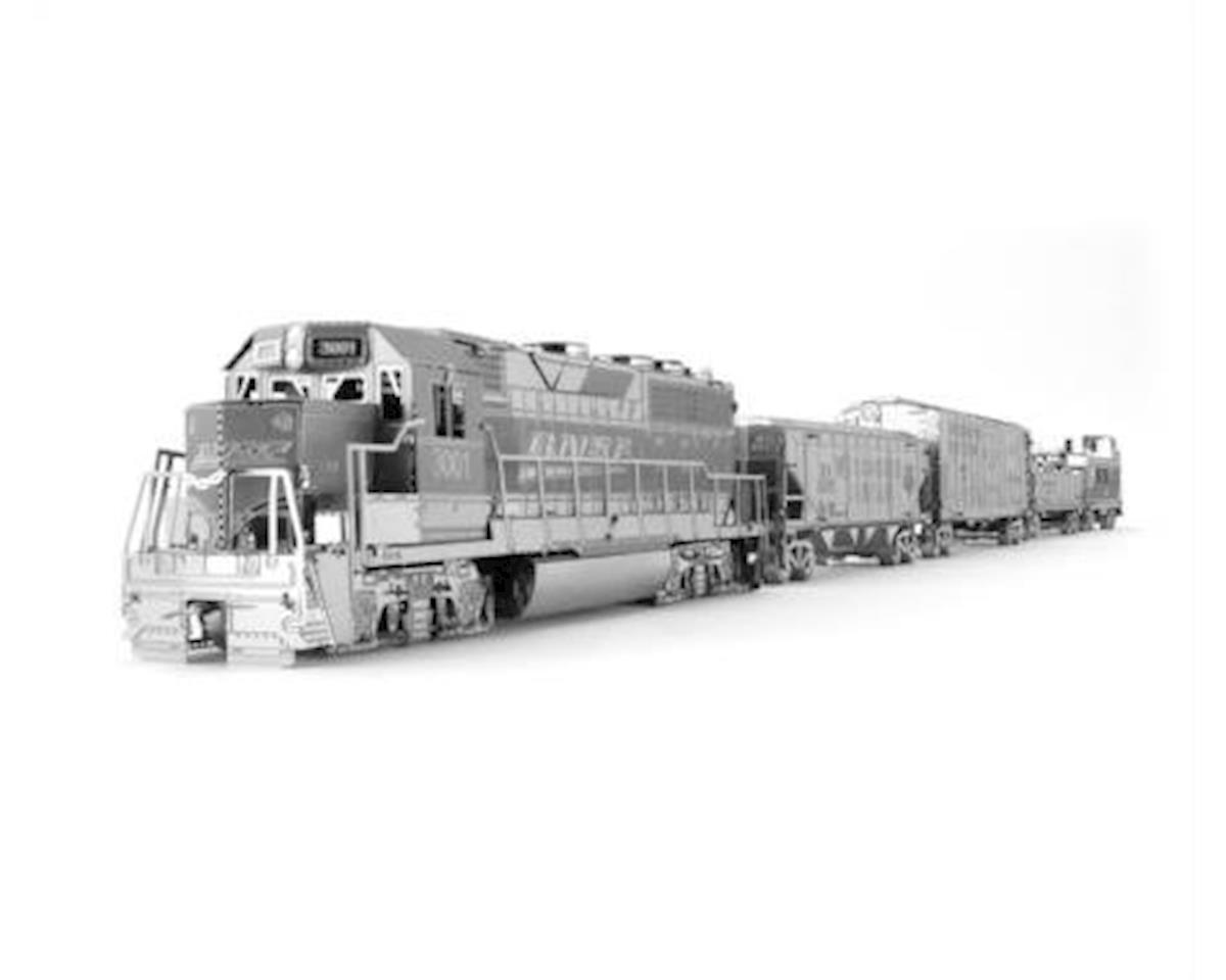 Fascinations Metal Earth Freight Train Set