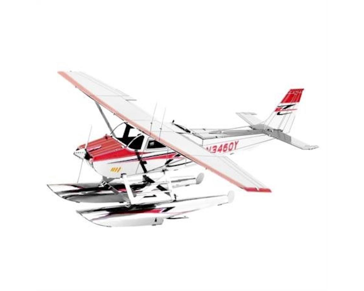 111 : Metal Earth Cessna 182 Floatplane 3D Metal Model Kit