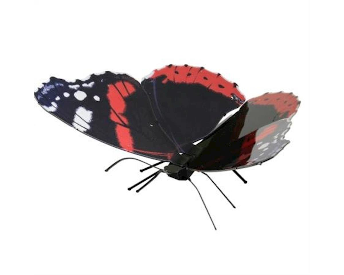 Metal Earth Red Admiral Butterfly 3D Metal Model Kit