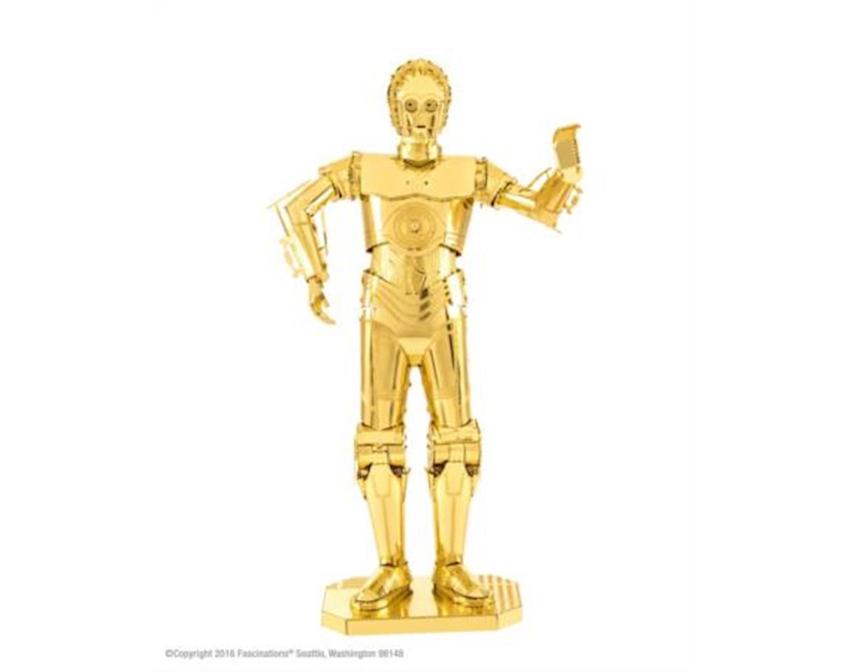 Fascinations Star Wars Gold C-3PO Metal Earth Model Kit