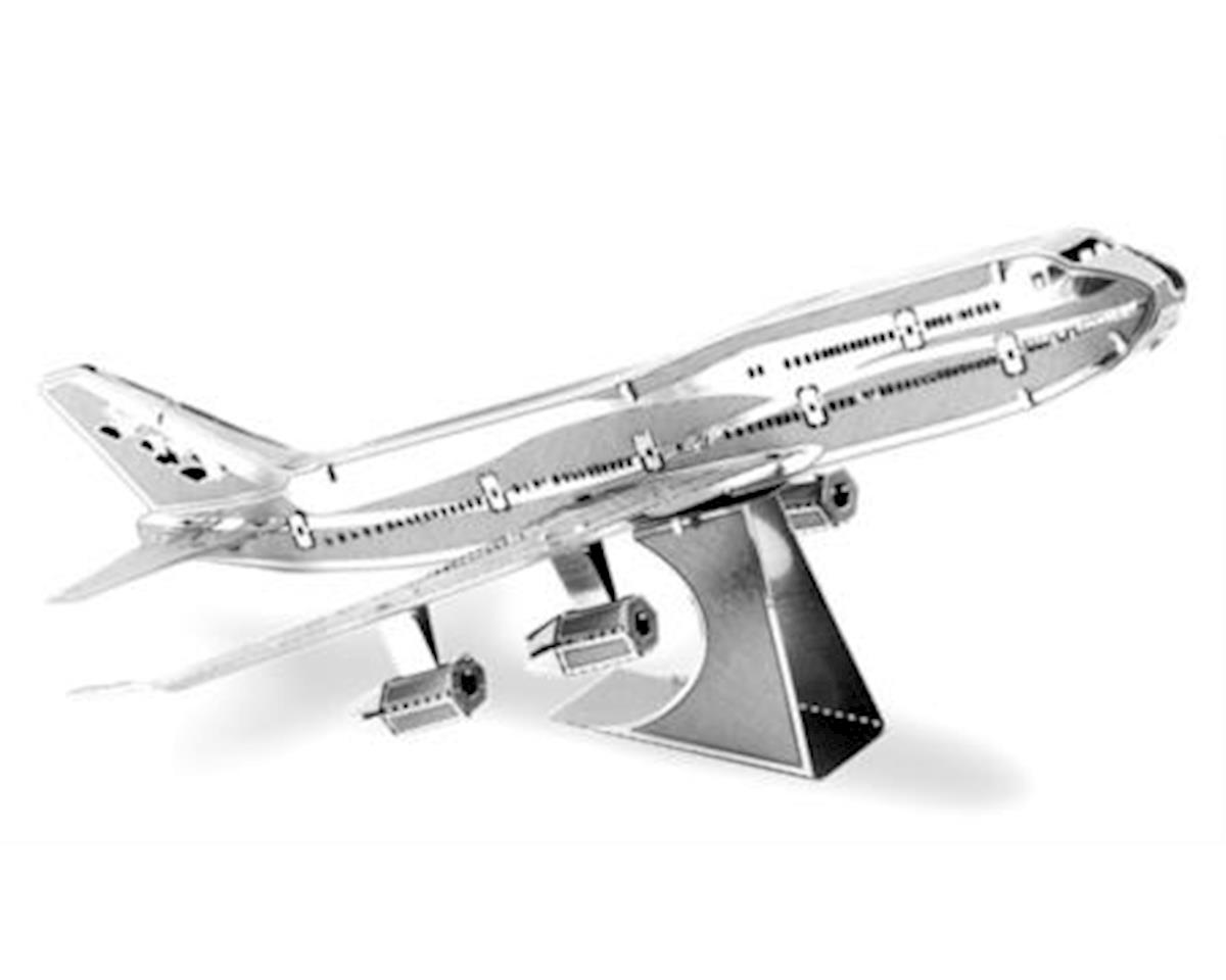 Fascinations MMS004 Metal Works 3D 747 Commercial Jet Laser Cut Model