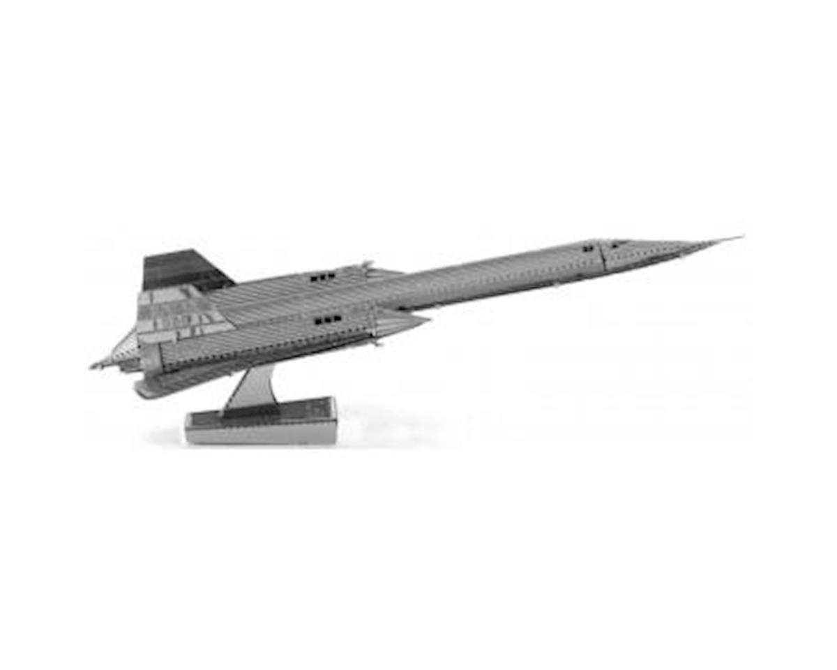 Metal Earth 3D Metal Model - SR71 Blackbird Plane by Fascinations