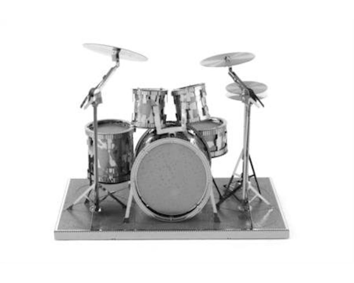 Fascinations Metal Earth 3D Laser Cut Model - Drum Set
